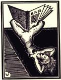 EX-LIBRIS-de-Valentin-LE-CAMPION-pour-Eugène-STRENS, 1933