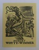 Ex-libris; Lot met 11 ex-libris van Valentin le Campion (1903