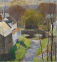 Daniel Garber - Carversville, Springtime,