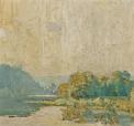 Daniel Garber - The Delaware, 1914