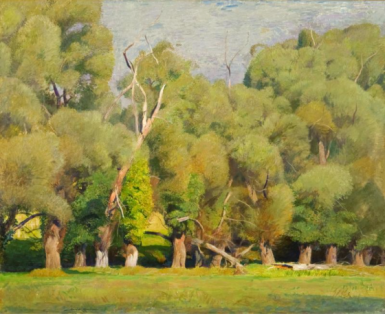 Daniel Garber - Willows, 1938