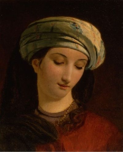 François-Joseph Navez - Jeune fille au turban, 1826