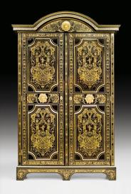 Nicolas Sageot - Bibliothèque en armoire, Louis XIV:Régence