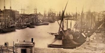 Le port de Sète en 1845