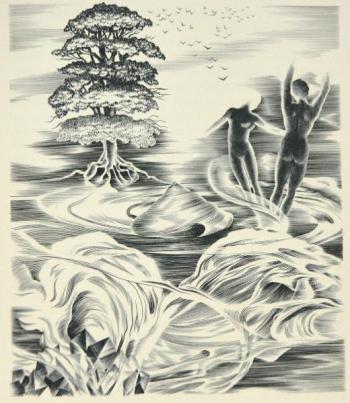 Camille Jossoo - .De rerum Natura de Lucrèce, 1950jpg