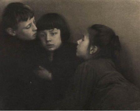 Portrait des enfants Kühn , 1904