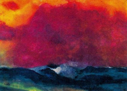 Emile Nolde watercolor