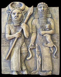 Gilgamesh_Enkidu
