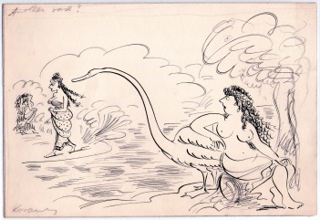 Kovarsky sketch_Leda and the swan.jpg
