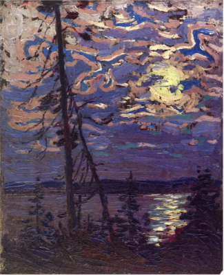 Tom Thomson (1877-1917) - Moonlight, 1915.png