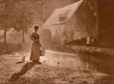Léonard Misonne - Auprès du Moulin, 1905 (2).png