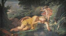 Nicolas Bernard Lépicié - Narcisse changé en fkeur, 1771