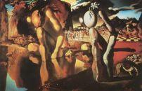 Salvatore Dali - La Métamorphose de Narcisse, 1934