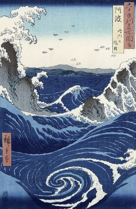 Katsushika Hokusai - View Of The Naruto Whirlpools At Awa.jpg