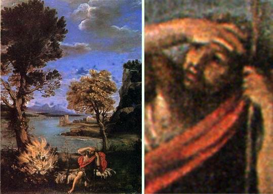 Le Dominiquin - Moïse et le buisson ardent, 1616.jpg