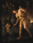 Narcisse et Cupidon (1627-1630) - Nicolas Poussin - Crédit Christie's.png