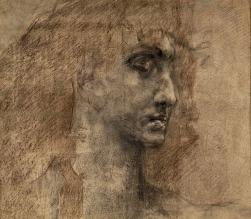 Vroubel-Tête de Démon-Galerie Tretiakov (1890)