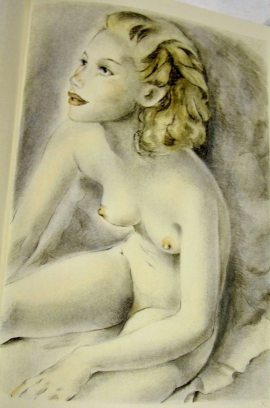 Mariette Lydis - illustration pour Les jeunes filles de Montherlant